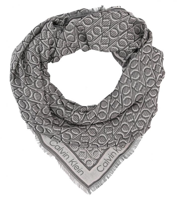 Novinky 2021 - Dámský šátek Calvin Klein K60K606843