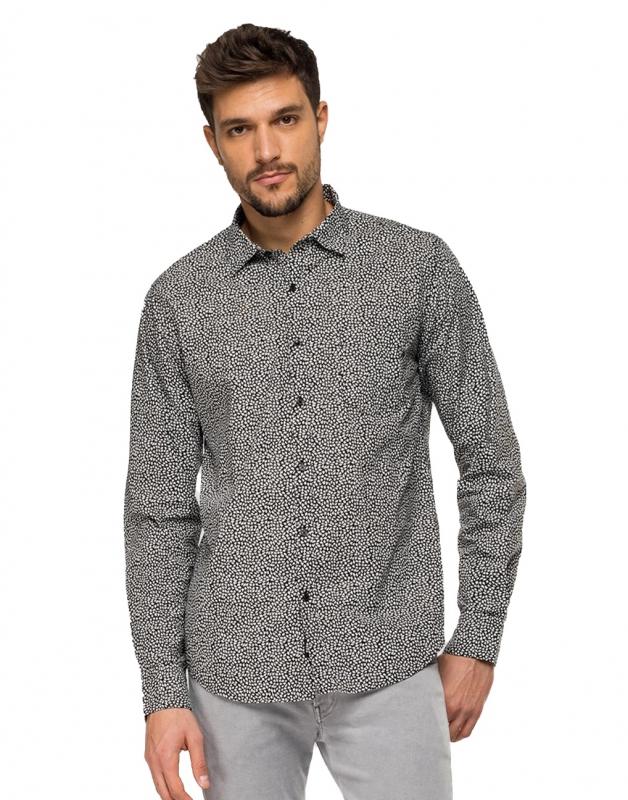 Výprodej až 50% - Pánská košile Replay M4953P.00071972