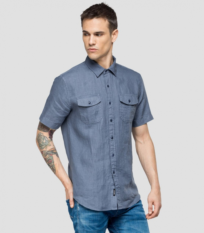 Muži - Pánská košile Replay M4988B.000.81388N