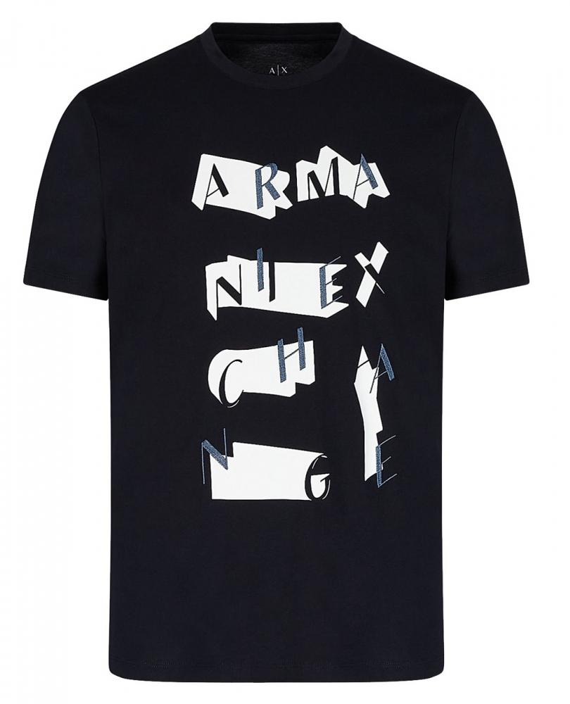 Novinky 2021 - Pánské triko Armani Exchange 3KZTFK.ZJBVZ