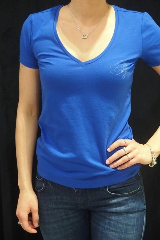 Módní značky - Dámské triko Armani Jeans A5H08