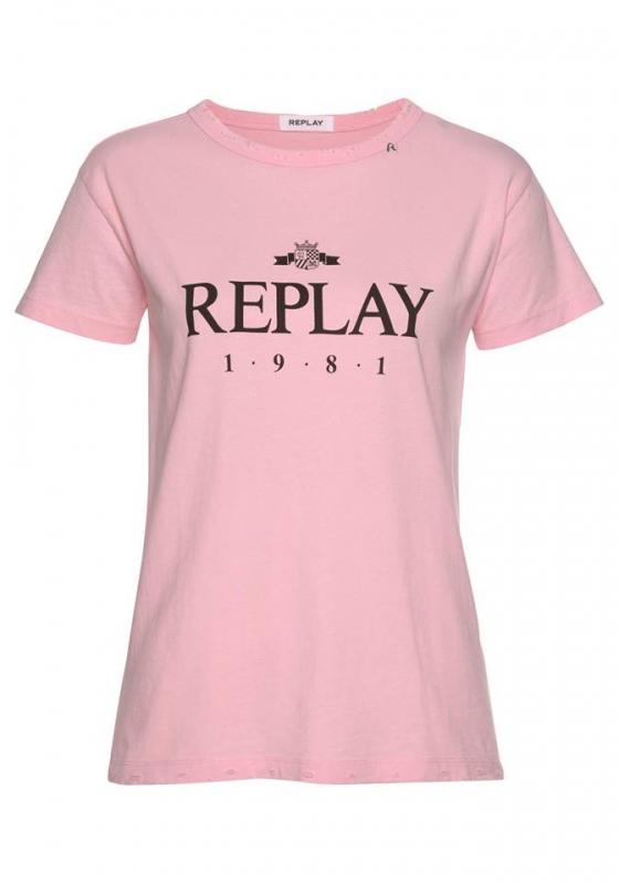 Novinky 2021 - Dámské tričko Replay W3984E.000.22038G