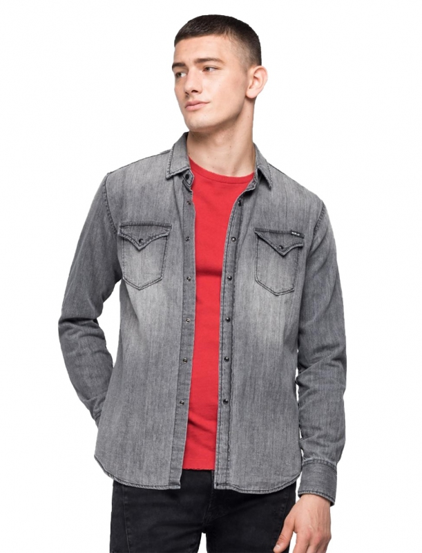 Výprodej až 50% - Pánská košile Replay M4860B.000154749