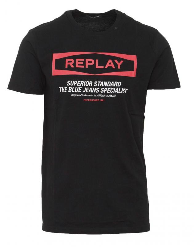Výprodej až 50% - Pánské triko Replay M3022.00022432
