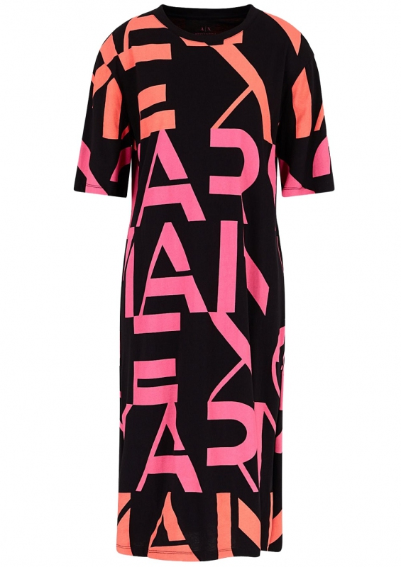 Novinky 2021 - Dámské šaty Armani Exchange 3HYA85.YJG3Z