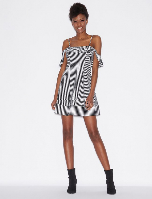 Výprodej až 50% - Dámské šaty Armani Exchange 3GYA61.YNKHZ