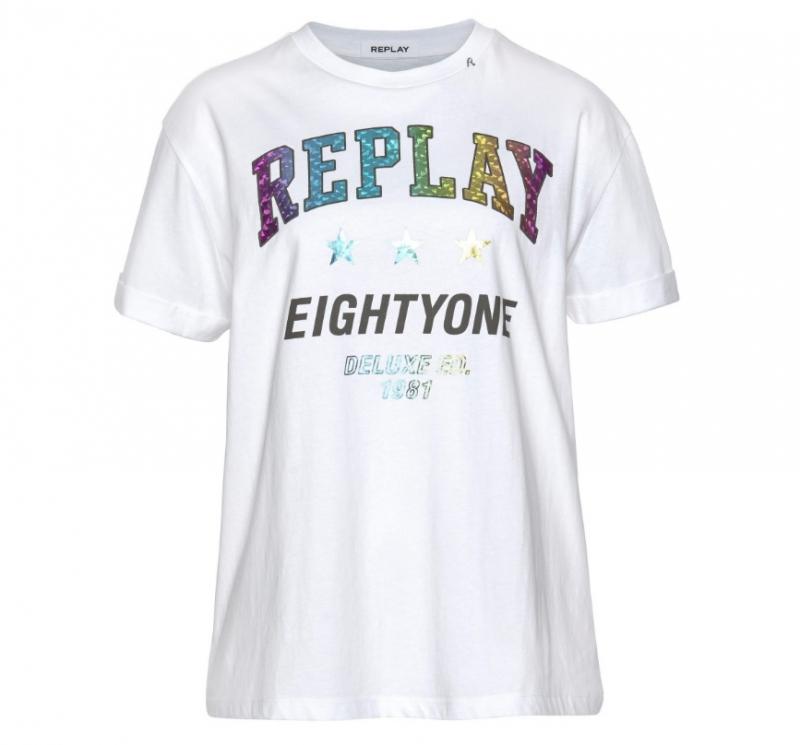 Ženy - Dámské triko Replay W3232A.00022038P