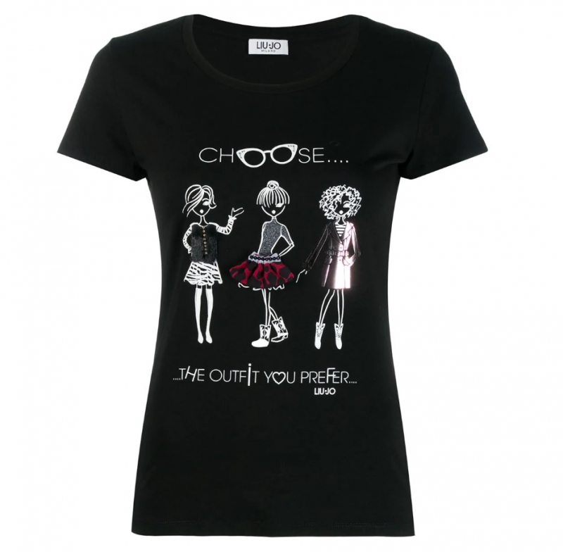 Ženy - Dámské triko Liu-Jo W69398.J5003