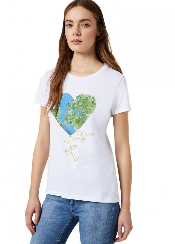 Výprodej až 50% - Dámské triko Liu-Jo WA0385.J5909